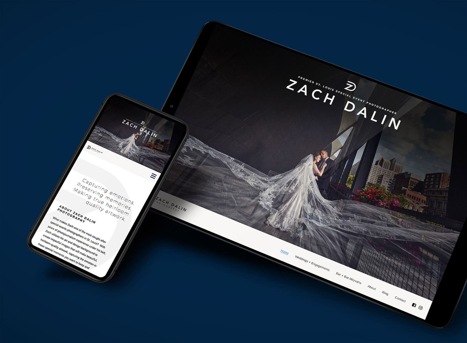 Zach Dalin Photography's New Website